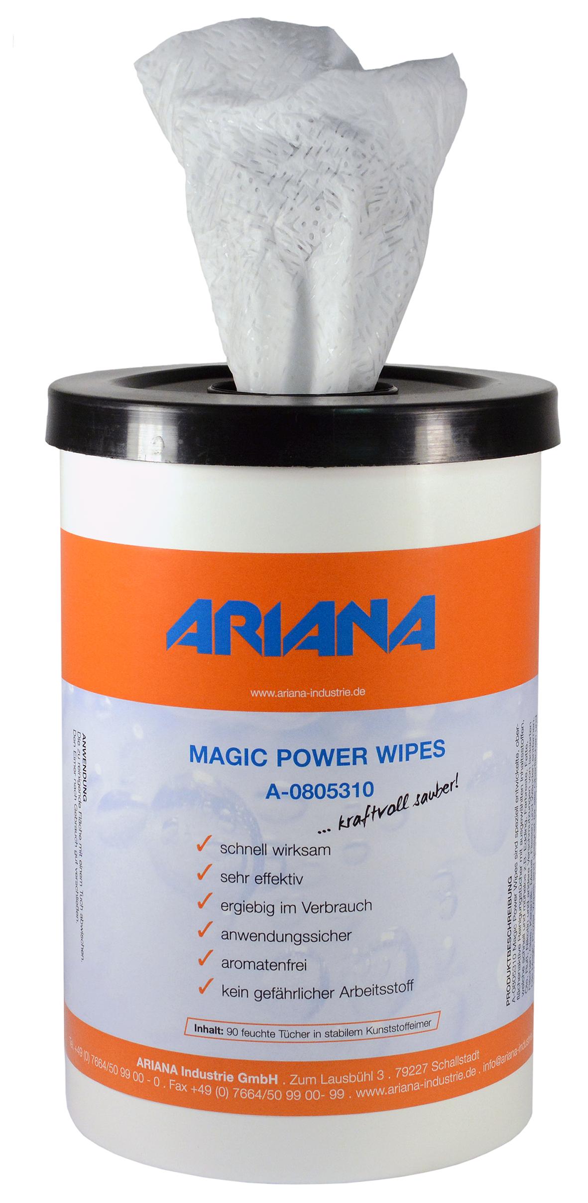 Reinigungstücher  Edding entfernen uvm  Magic Powe